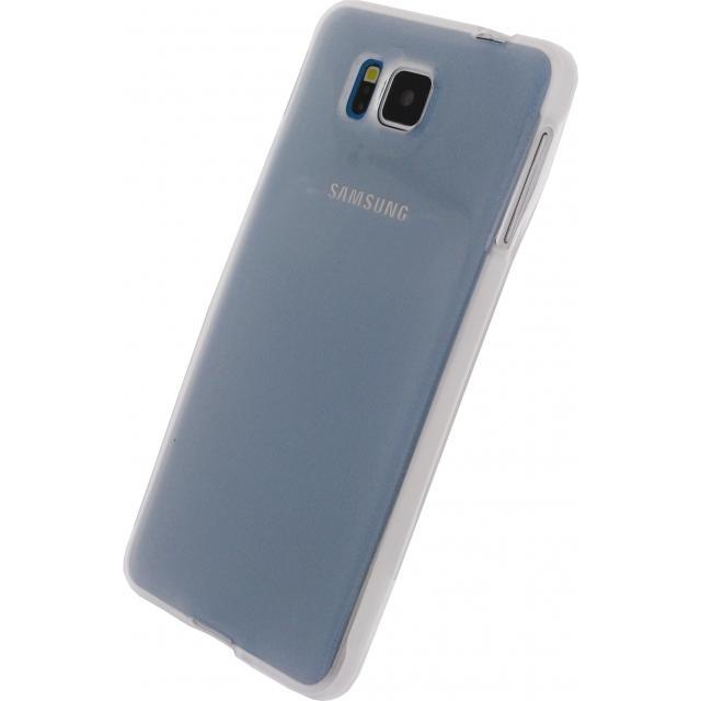 Afbeelding van Xccess TPU Case Samsung Galaxy Alpha Transparent White