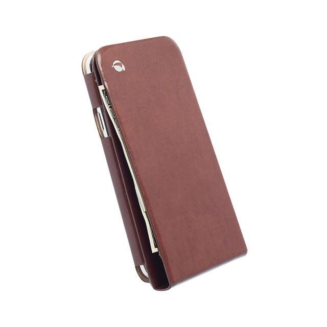 Afbeelding van 75969 Krusell Kalmar Wallet Case Samsung Galaxy S5 Mini Brown Krusel