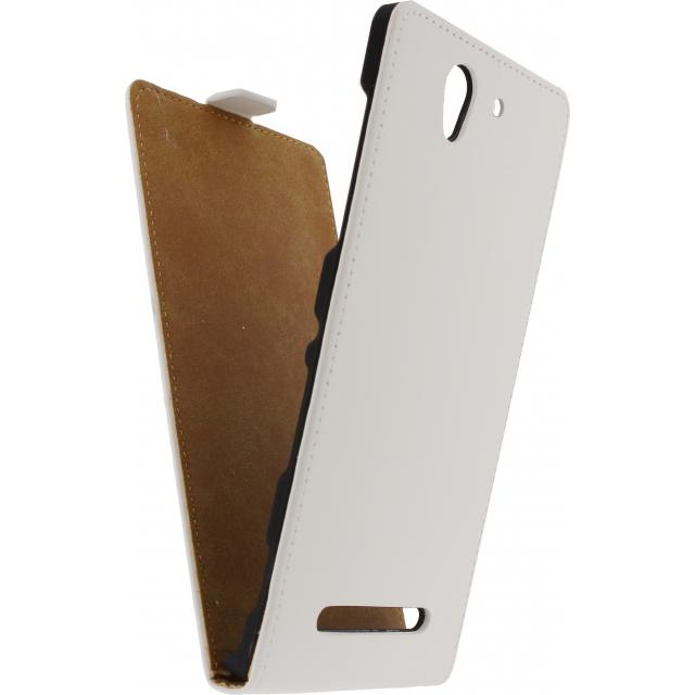 Mobilize Ultra Slim Flip Case Sony Xperia C3 White Mobilize Ultra Slim Flip Case Sony Xperia C3 White