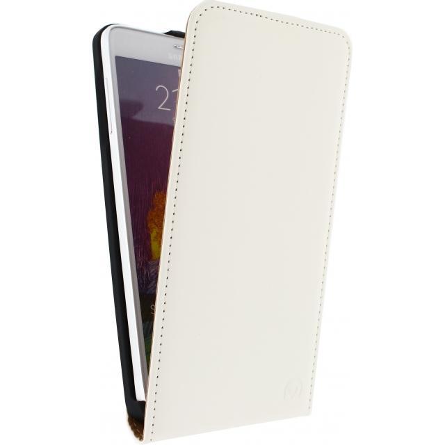 Afbeelding van Mobilize Ultra Slim Flip Case Samsung Galaxy Alpha White