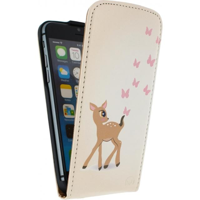 Afbeelding van Mobilize Ultra Slim Flip Case Apple iPhone 4/4S Deer