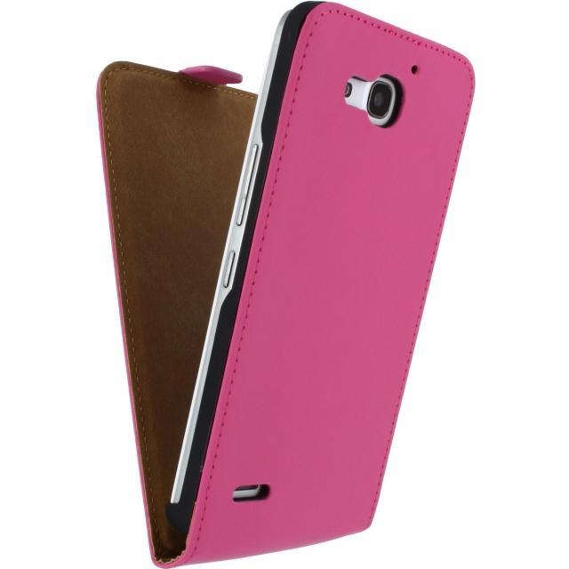 Afbeelding van Mobilize Ultra Slim Flip Case Huawei Ascend G7 Fuchsia