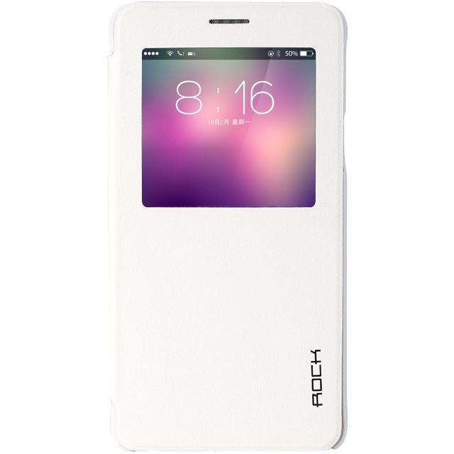 Afbeelding van Rock Uni Side Case Samsung Galaxy Note 4 White