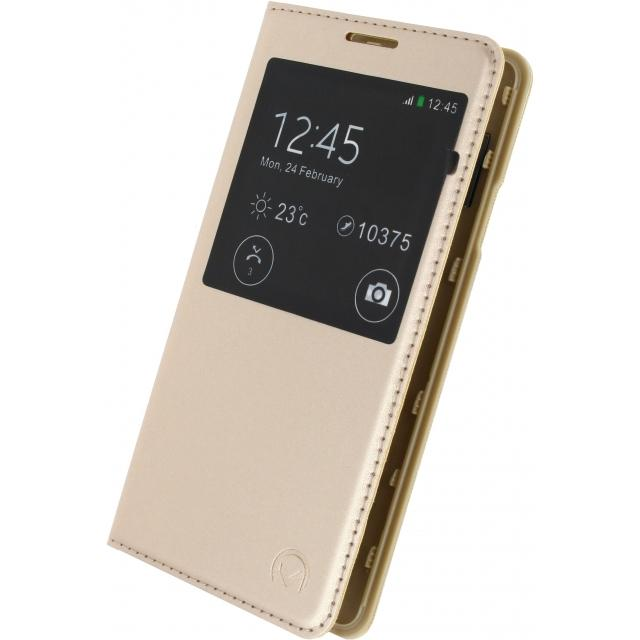 Mobilize S-View Leather Cover Samsung Galaxy Alpha Gold Mobilize S-View Leather Cover Samsung Galaxy Alpha Gold