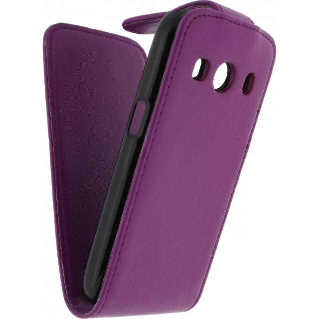 Xccess Flip Case Samsung Galaxy Ace 4 SM-G357 Purple Xccess Flip Case Samsung Galaxy Ace 4 SM-G357 Purple