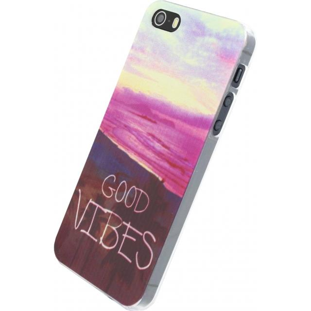 Xccess Cover Apple iPhone 5/5S/SE Good Vibes Xccess Cover Apple iPhone 5/5S/SE Good Vibes