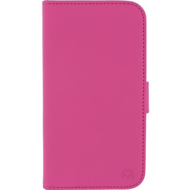 Afbeelding van Mobilize Slim Wallet Book Case Samsung Galaxy S5 Mini Fuchsia Mobili