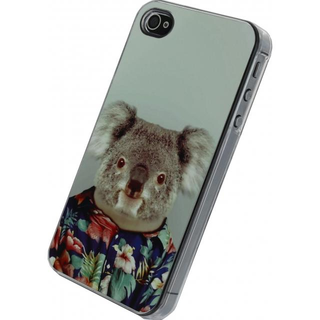 Xccess Metal Plate Cover Apple iPhone 4/4S Funny Koala Xccess Metal Plate Cover Apple iPhone 4/4S Funny Koala