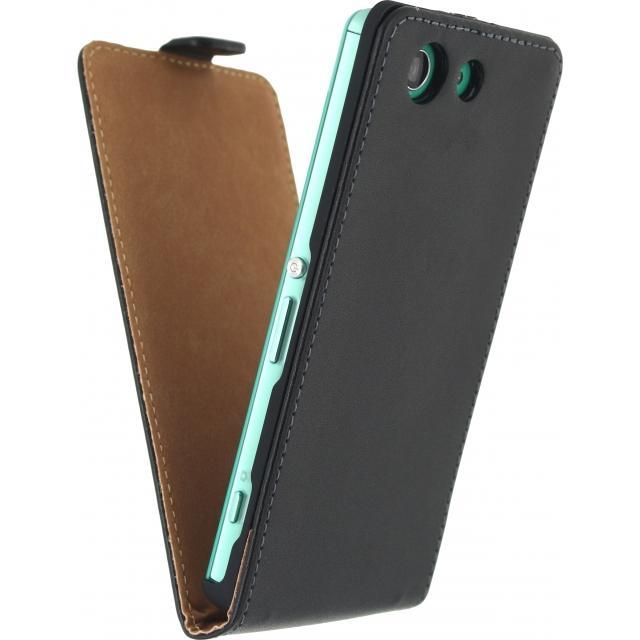 Afbeelding van Sony Xperia Z3 Telefoonhoes Zwart Mobilize