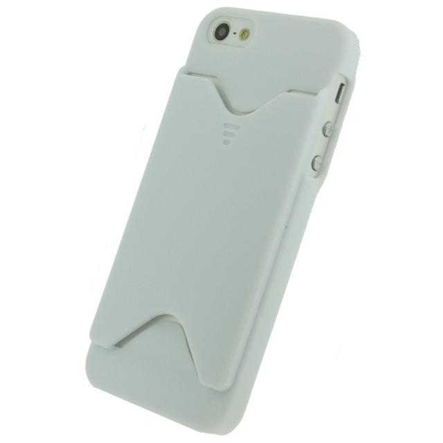 Xccess Card Cover Apple iPhone 5/5S/SE White Xccess Card Cover Apple iPhone 5/5S/SE White