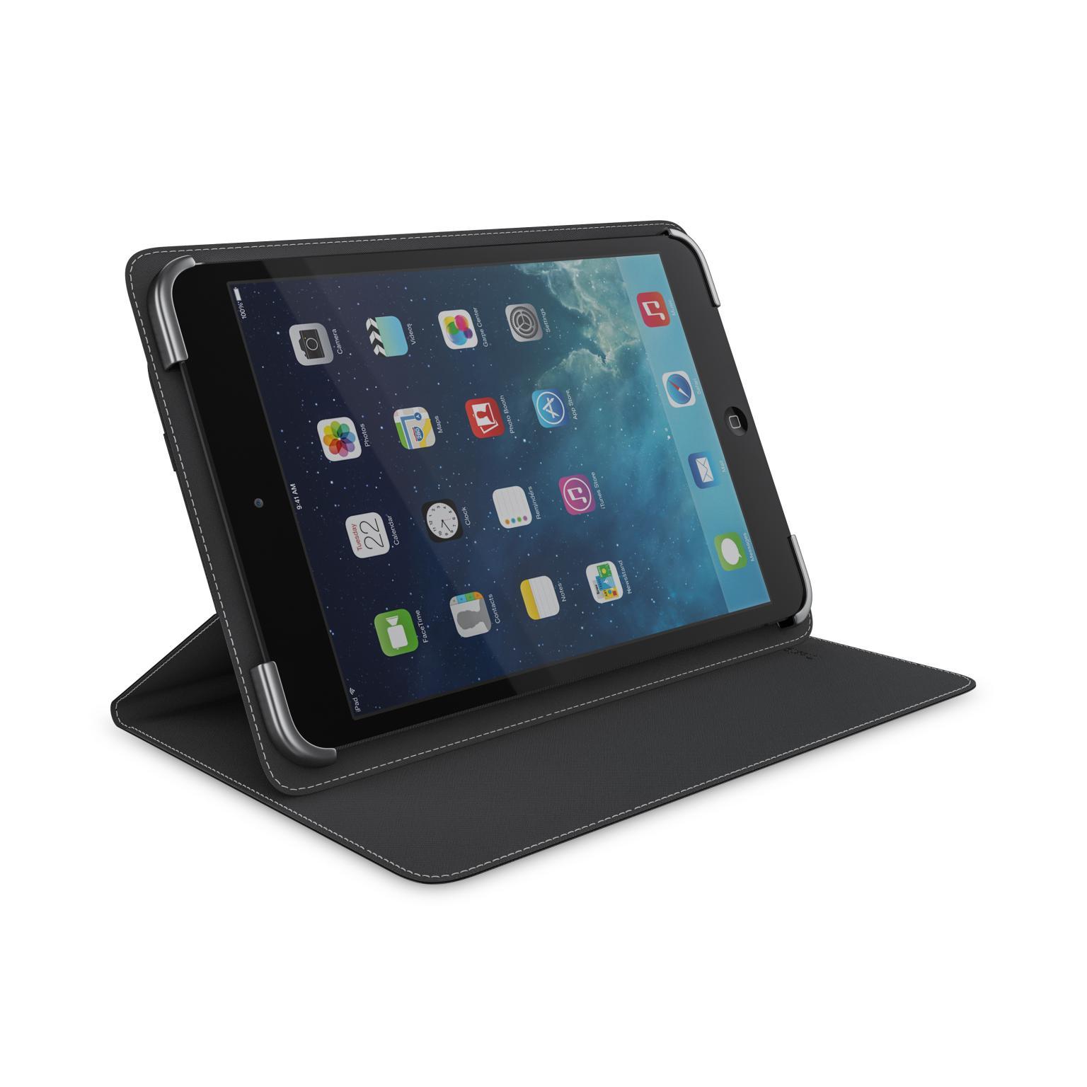 Afbeelding van BeHello Universal Tablet Case 7 8Inch Black