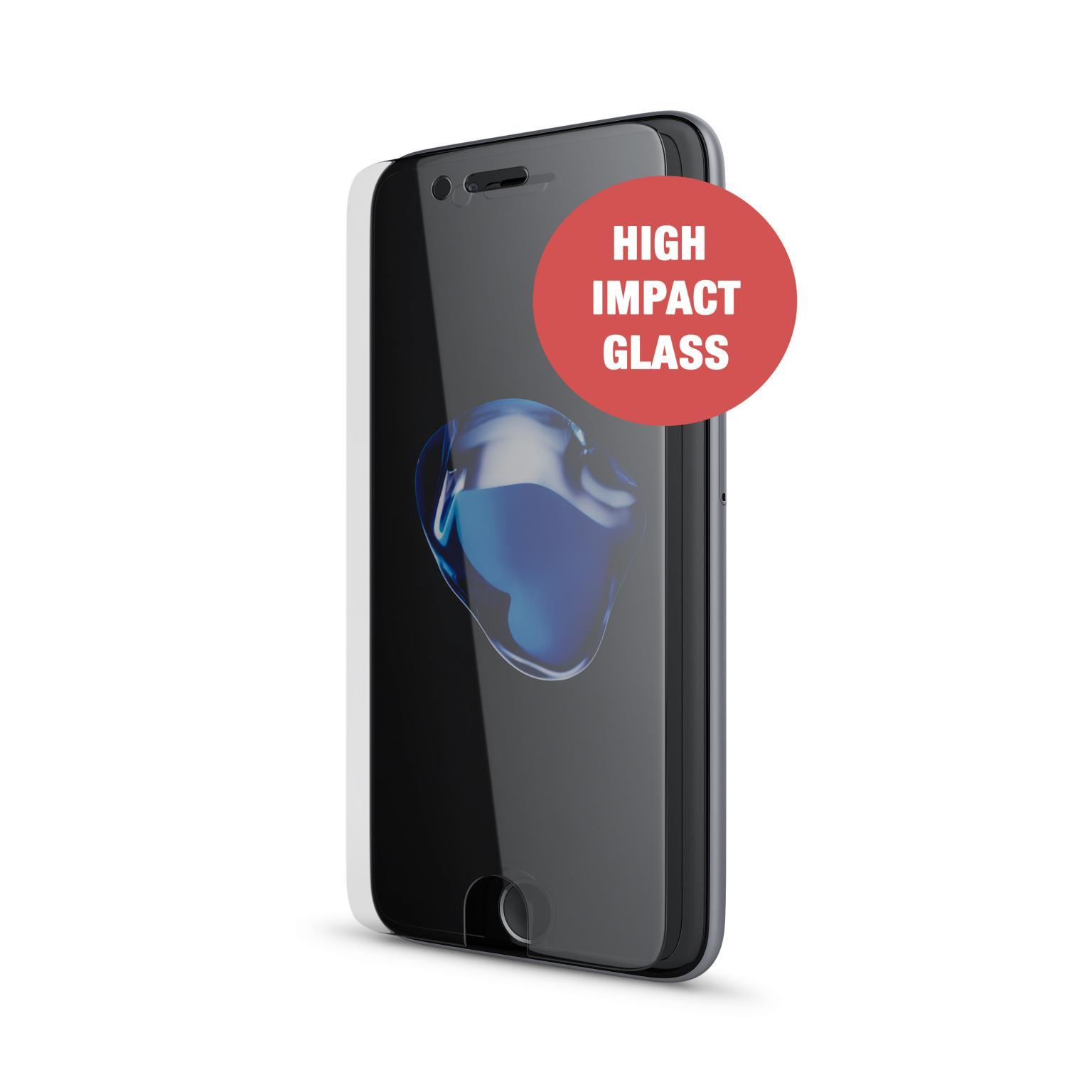 Afbeelding van BeHello iPhone 7 / 6S 6 High Impact Glass Transparent