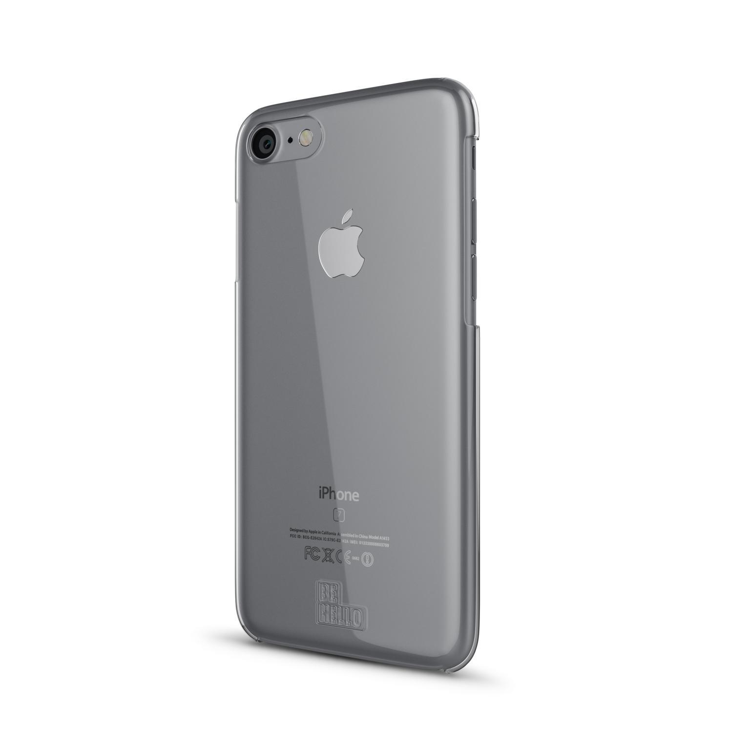 Afbeelding van BeHello iPhone 7 / 6S 6 Transparent Back Case Anti Scratch Transpare