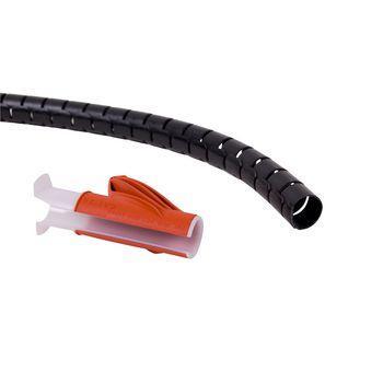 Afbeelding van Kabelslangen 15 mm 3 m Zwart Dataflex