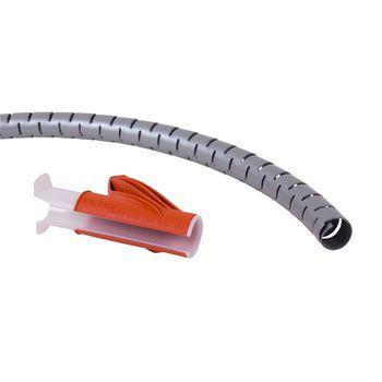 Afbeelding van Kabelslangen 15 mm 3 m Zilver Dataflex
