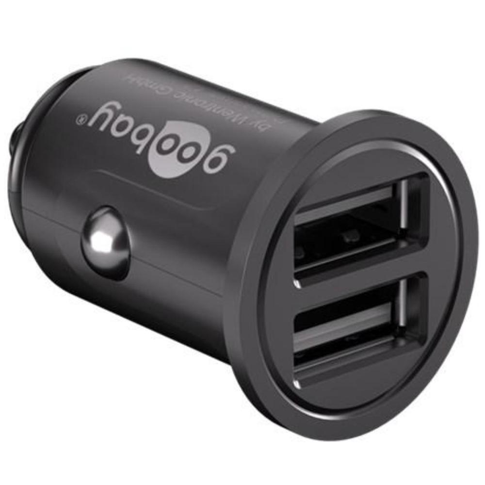 4.8?A dual USB car charger<br>compact power supply for mobile phones and sm Uitgaande stroomsterkte 2x USB: 4800mA