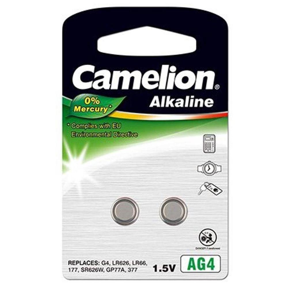Afbeelding van Camelion Alkaline 0% Mecury AG4 1,5V blister 2