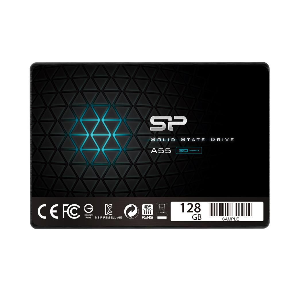 SSD - 2,5'' SATA III - 128 GB Afmetingen: 100.0 x 69.9 x 7.0mm