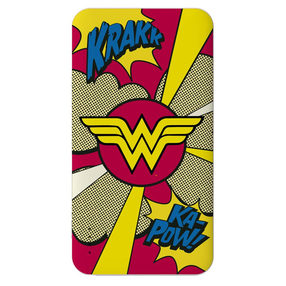 Powerbank - 5.000 mAh - Slim U750 Wonderwoman