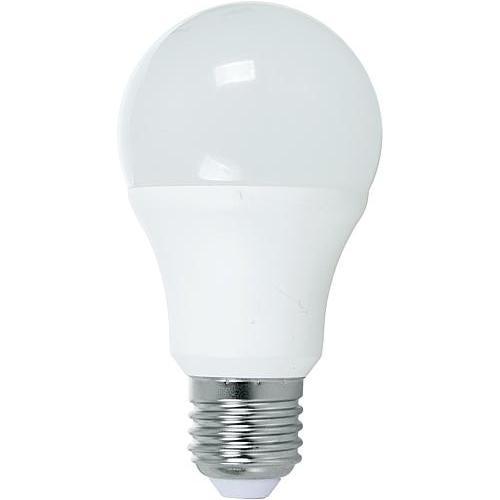 e27 led lamp lamptype led lampvoet e27 vermogen 9 watt spanning 230 volt energieklasse a lichtsterkte 810 lumen dimbaar nee