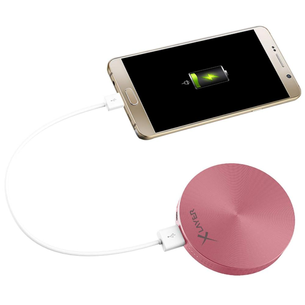 Powerbank - 6.000 mAh - Rose goud