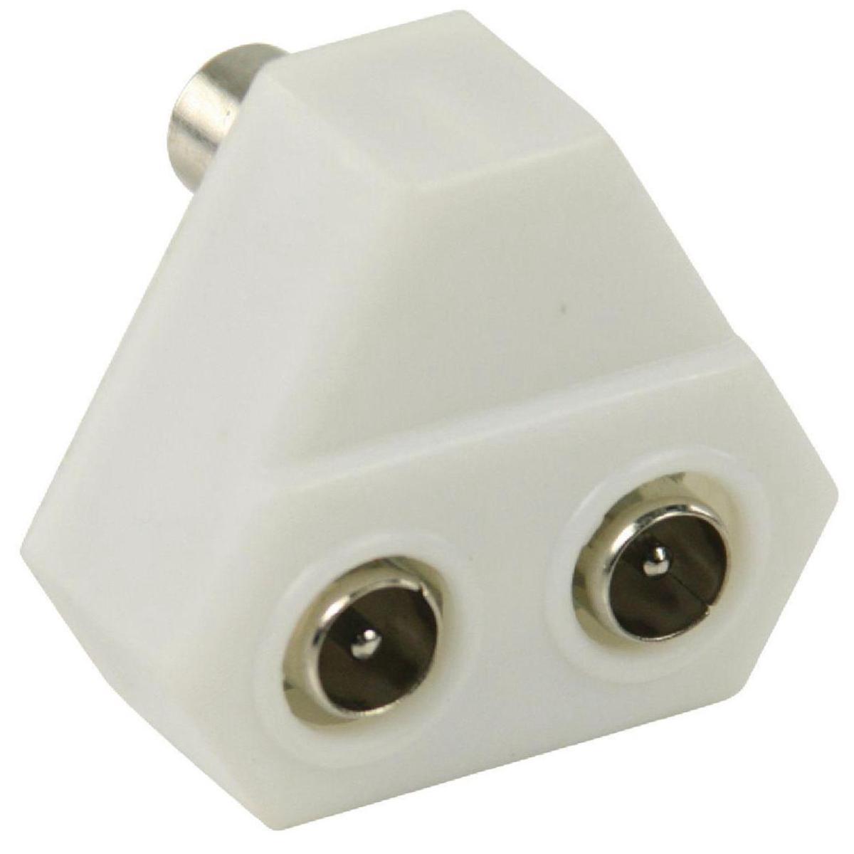 Magnifiek Coaxsplitter voor analoog of digitaal signaal bij Allekabels BW16