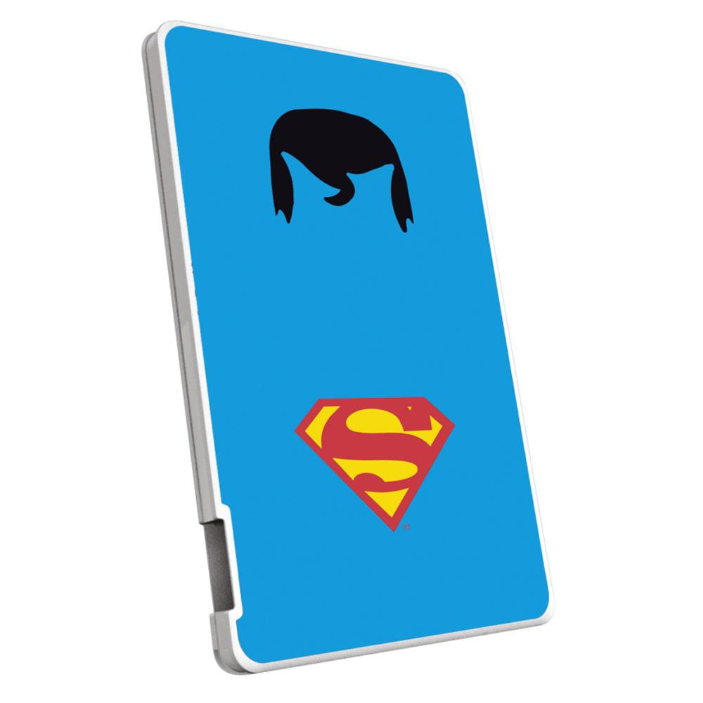 EMTEC Power Bank 2500mAh Justice League (Superman) Capaciteit: 2.500 mAh
