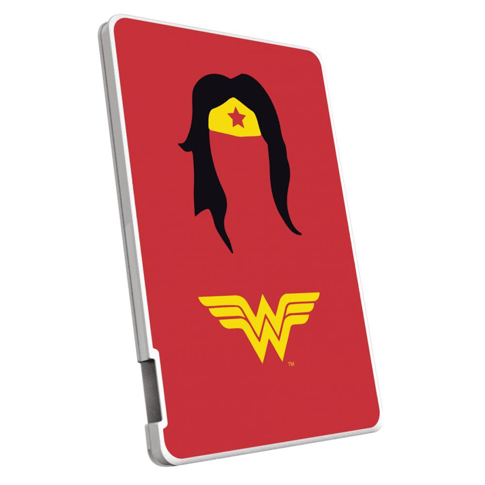 EMTEC Power Bank 2500mAh Justice League (Wonderwoman) Capaciteit: 2.500 mAh
