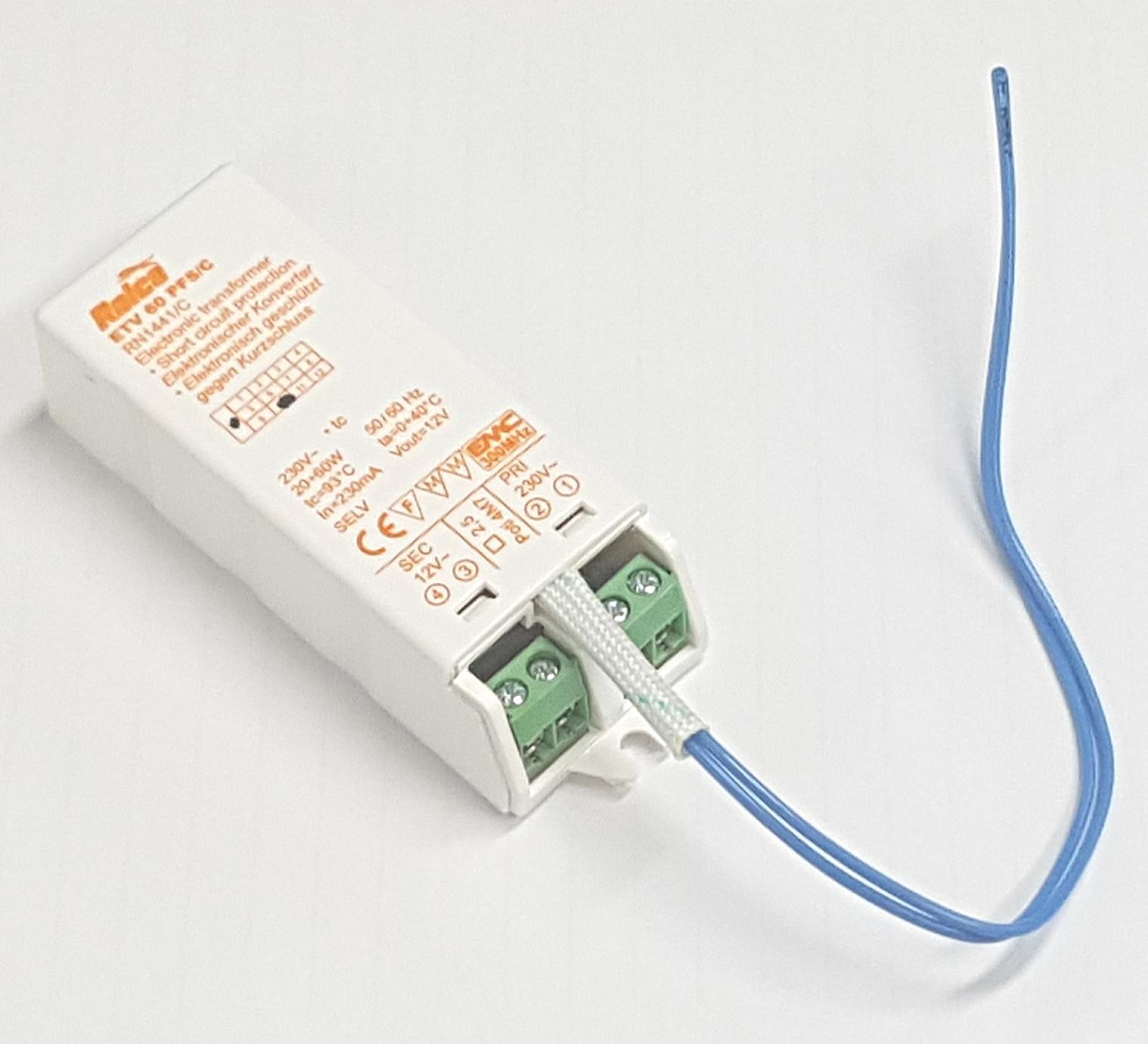 Elektronische Halogeentrafo - Elektronische halogeentrafo, dimbaar ...